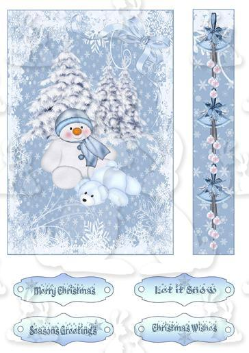 Xmas Wishes Topper Sheet