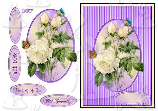 With Sympathy Card Front-DWJ