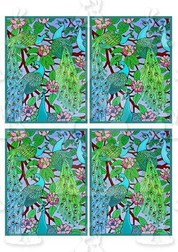 Peacock Sheet 6-DWJ