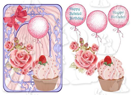 Belated Birthday(Card No 3S)