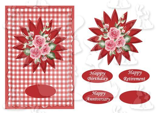 Birthday or Anniversary (A5 card No2P)