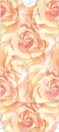 Peach Rose Tunnel Card Box Part A