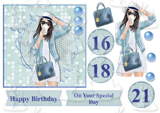 BirthdayGirlCoffeeTopper