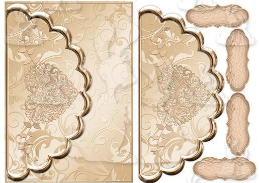 Golden  envelope style-DWJ