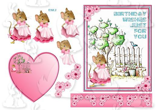 Cute Mouse 2-DWJ