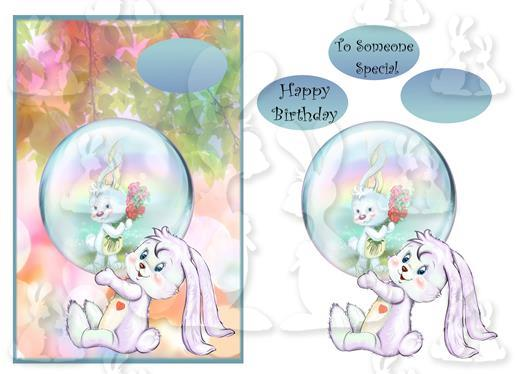 To someone special (A5 Card No 15M)