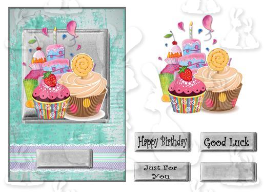 Just eat cake(A5 Card No 14M)