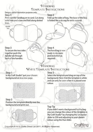 Umbrellas Handbag Instructions