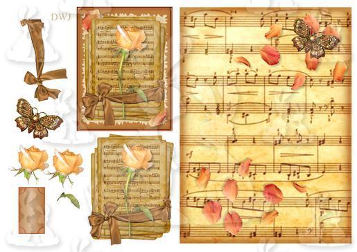 Music Rose Design Sheet-DWJ