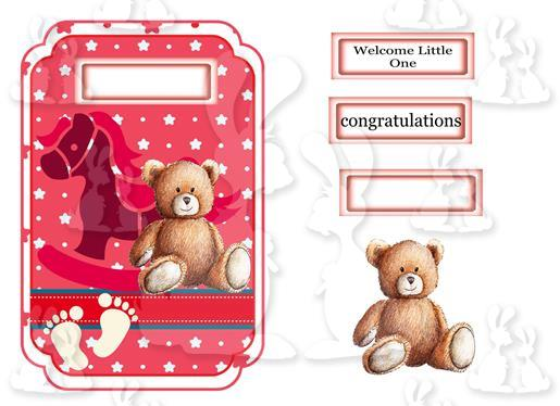 Welcome Little One (Card No 17V)