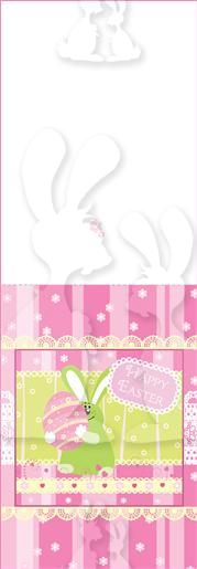 Easter Rabbit Vertical Pop Up (1)