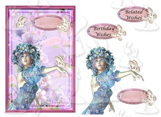 Belated Wishes{A5 Card No21M)