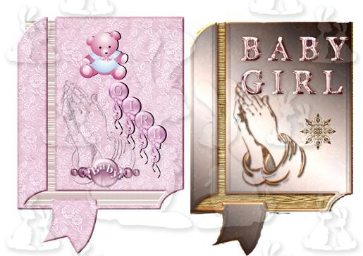 baby girl 2 books