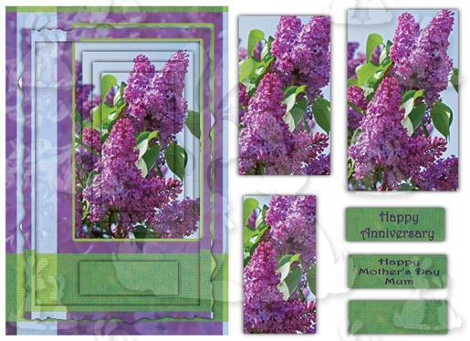 A5 card (Floral No3)