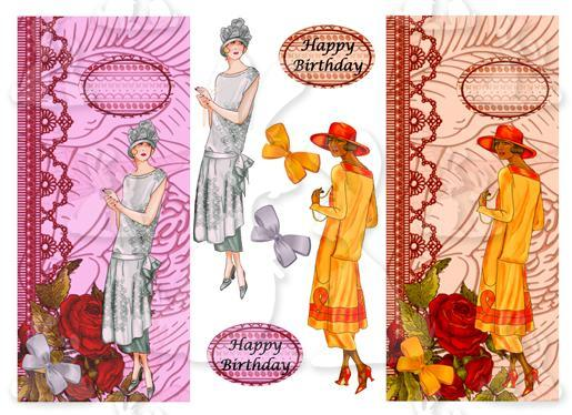 Deco Ladies (2 DL Cards No 3T & 4T)