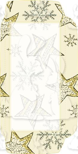 Stary Winter Baubles DL Envelope Front
