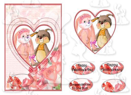 Valentine's Card (A5 No 1P)