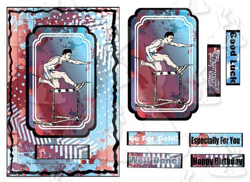 Athletics (A5 card No 1)