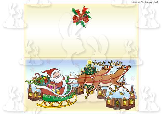 Santas Delivery DL Card
