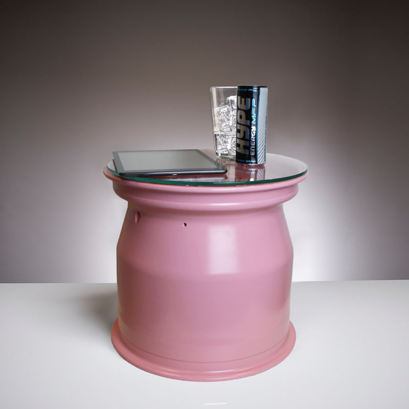 Pink Force India coffee table