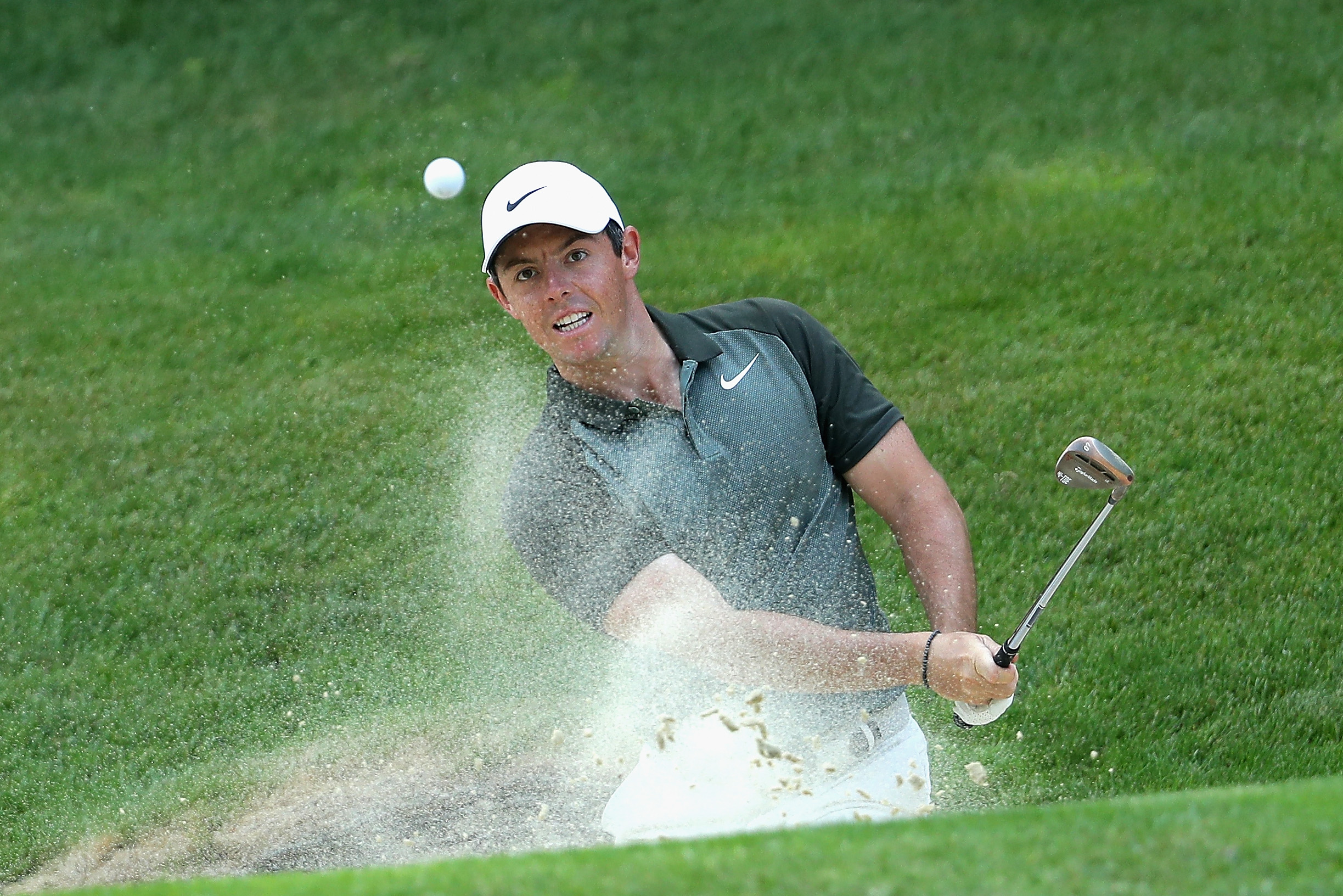 rory mcilroy recovers from slow start to share lead with francesco molinari at bmw pga at wentworth