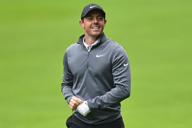 Rory McIlroy surges clear of pack at BMW PGA Championship
