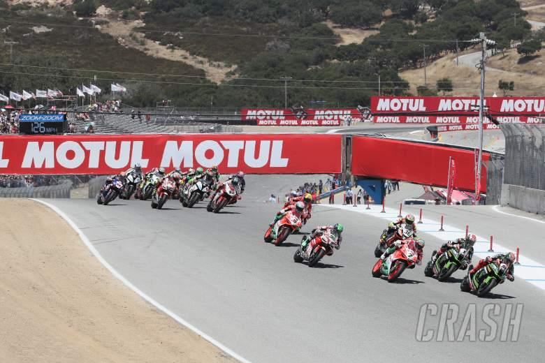 World Superbikes: Laguna Seca