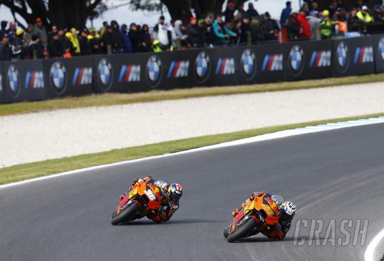 MotoGP: 'Taking risks' integral to KTM progression
