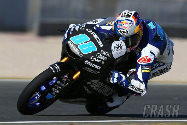 MotoGP: Jerez Moto3 test times - Monday
