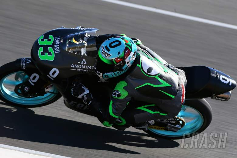 MotoGP: Jerez Moto3 test times - Tuesday