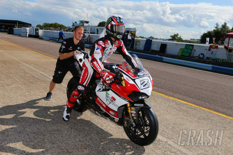 Thruxton,  - Hopkins frustrated by Thruxton tyre woes