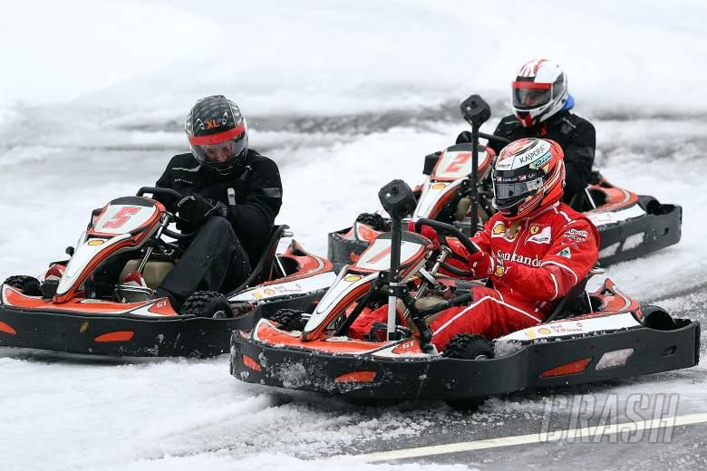 F1: Kimi Raikkonen, Ferrari, Shell