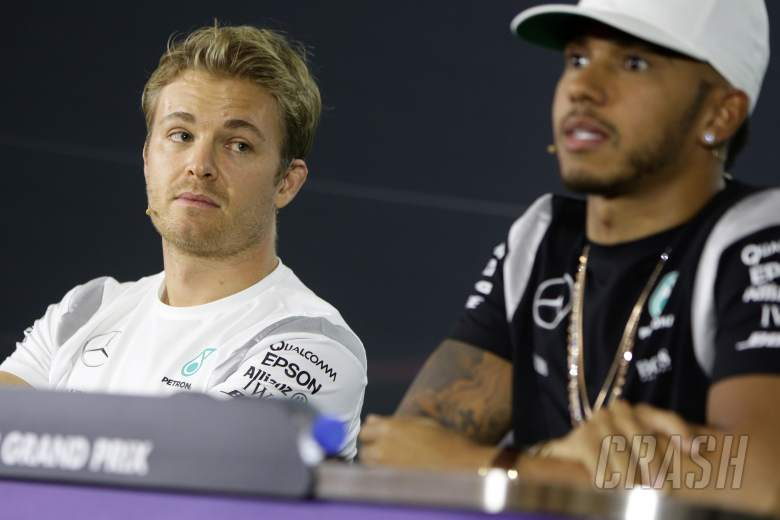F1: Nico Rosberg, Lewis Hamilton, Mercedes