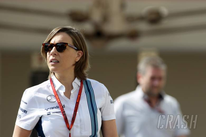 F1: Claire Williams, Williams,
