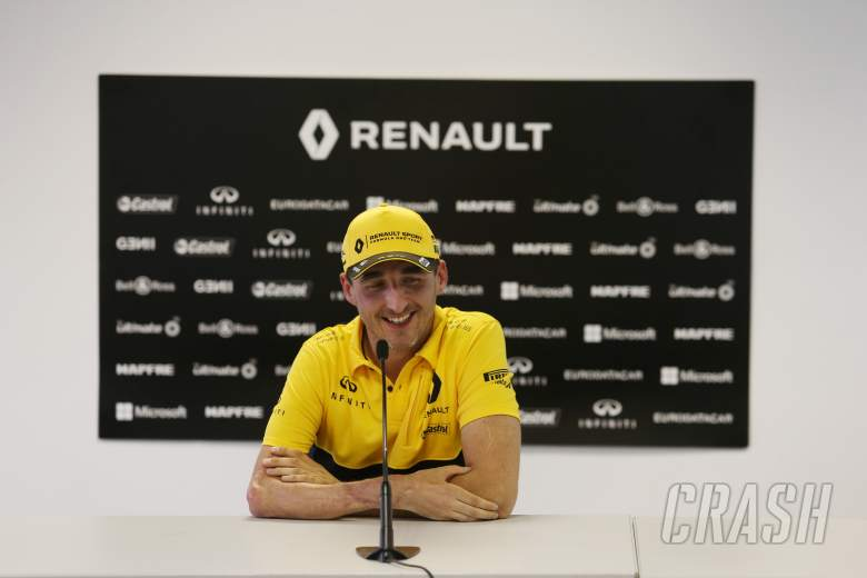 Poland's Kubica back on Formula 1 track