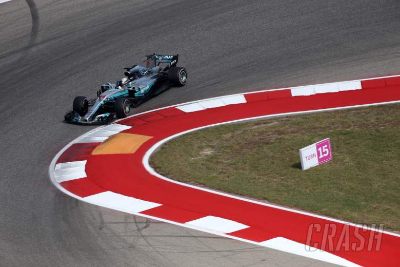 F1: Hamilton sweeps to United States GP pole, continues perfect weekend