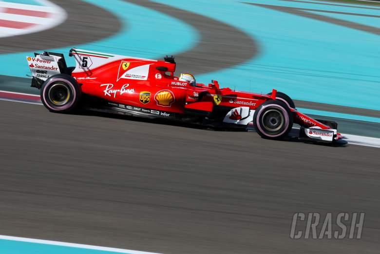 F1: Sebastian Vettel, Ferrari,