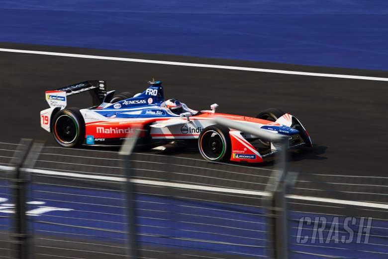 Abt earns first Formula E win as Rosenqvist's car fails