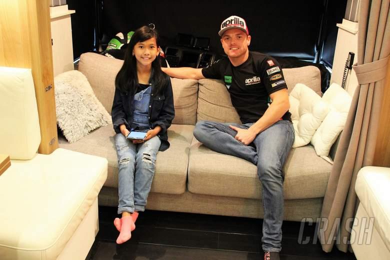 MotoGP: Shaina interviews… Sam Lowes!