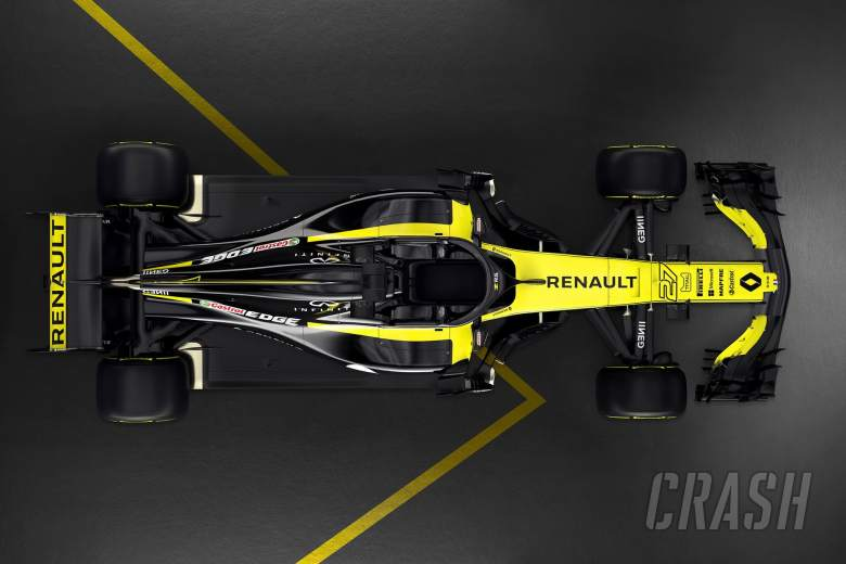 Renault Sport unveils the RS18 F1 2018 vehicle