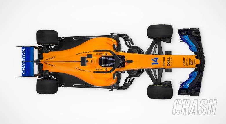 Alonso 'excited' as McLaren unveil new F1 vehicle