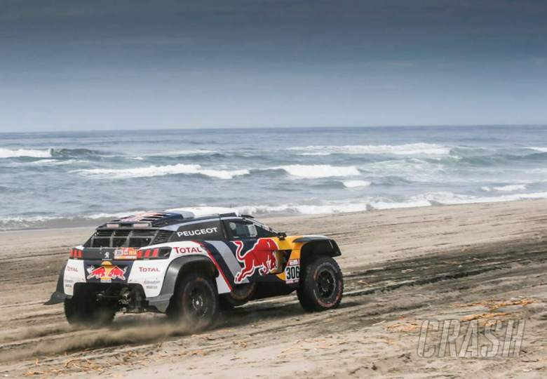 World Rally Sebastien Loeb Peugeot Dakar
