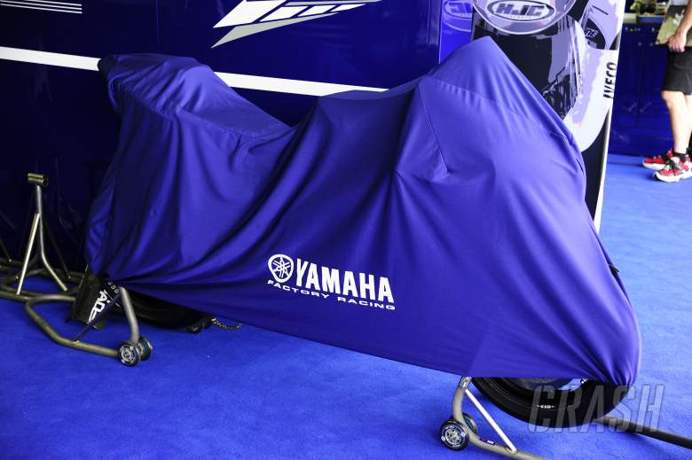 Yamaha M1 1000cc, Brno MotoGP Test 15 August 2011