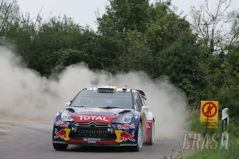 Sebastien Ogier (F) Julien Ingrassia (F) Citroen DS3 WRC, Citroen Total World Rally Team