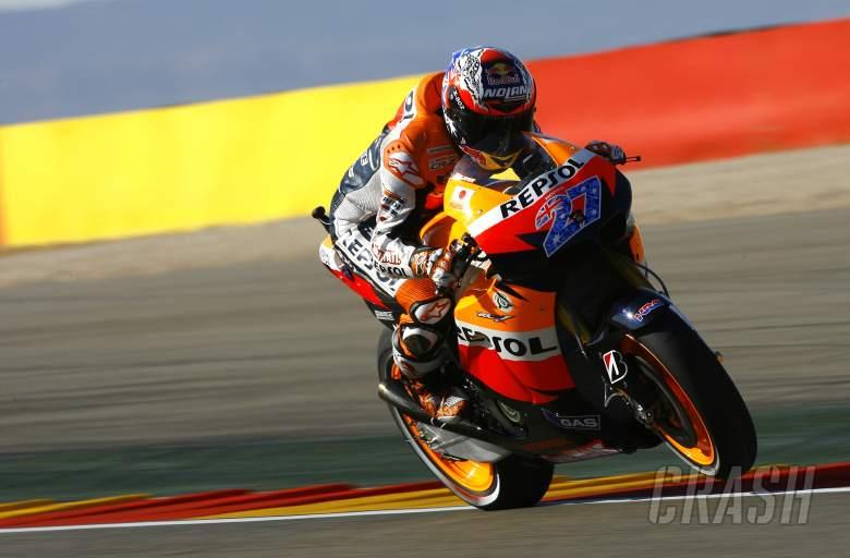 Stoner, Aragon MotoGP 2011