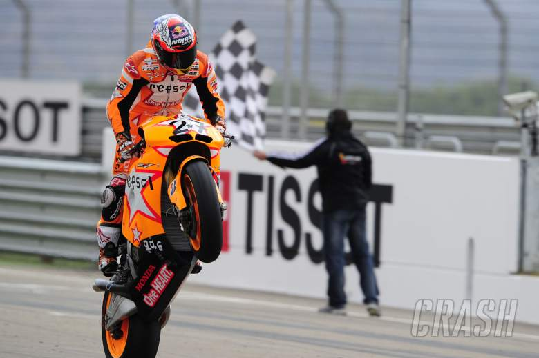 ,  - Stoner, Wins, Aragon MotoGP Race 2011