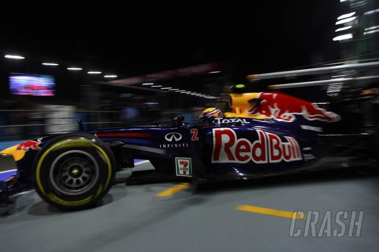 23.09.2011- Friday Practice 1, Mark Webber (AUS), Red Bull Racing, RB7