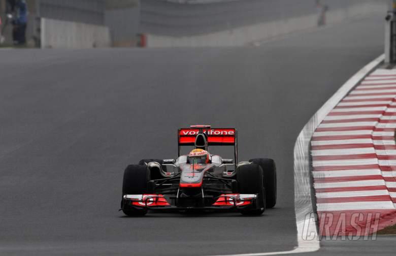 , , 14.10.2011- Friday Practice 2, Lewis Hamilton (GBR), McLaren  Mercedes, MP4-26