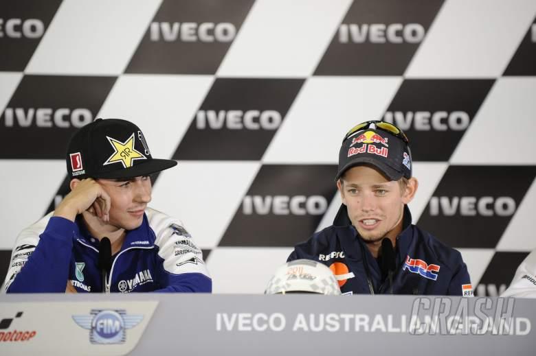 Lorenzo and Stoner, Australian MotoGP 2011