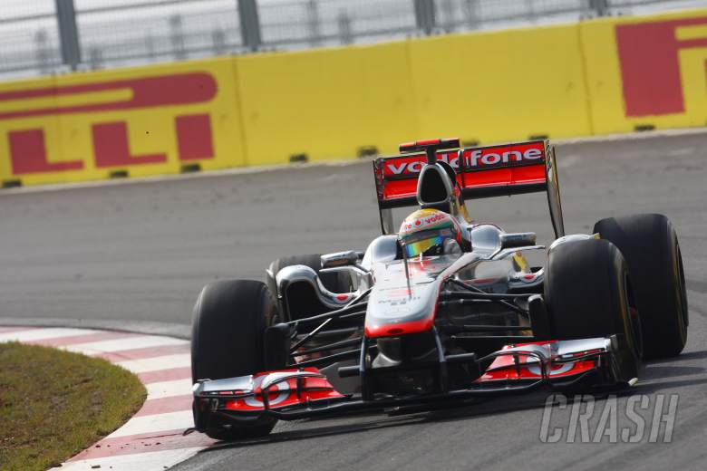 , - 15.10.2011- Qualifying, Lewis Hamilton (GBR), McLaren Mercedes, MP4-26